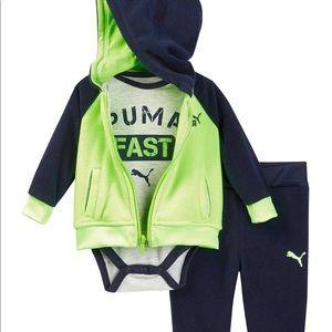 Puma Fleece jogging suit